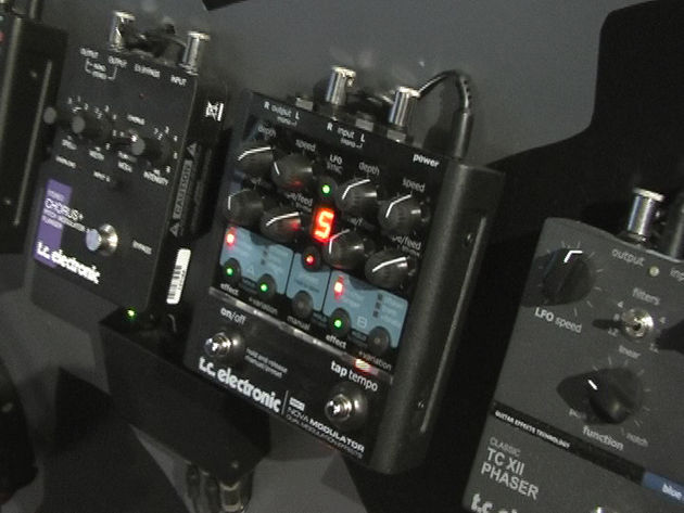 The new Nova stompboxes pack two FX engines