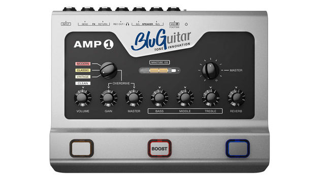 The BluGuitar Amp1 offers four channels and 100 watts of power