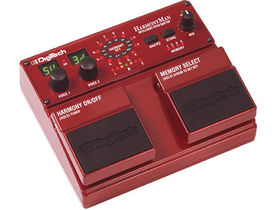 Digitech debuts the HarmonyMan Intelligent Pitch Shifter guitar pedal