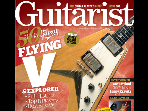 Guitarist magazine's celebratory issue goes on sale on 8 May in the UK