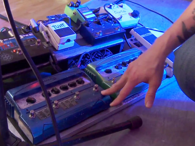 Myles Kennedy talks through his pedalboard