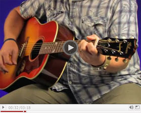 VIDEO: Gibson Brad Paisley J-45 acoustic guitar demo