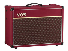 Vox offers limited edition red AC15C1 amp