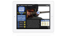 Learn Guitar Now: the ultimate series of guitar lessons for the iPad