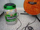 Now we've seen everything: The Heineken Keg Guitar Amp