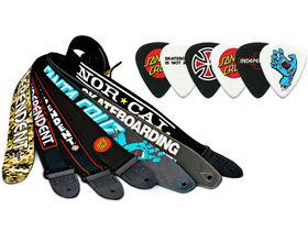 Dunlop unveils SK8 picks and straps