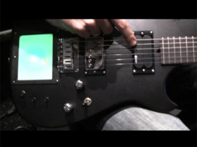 Matt Bellamy's MB-1 production signature is based on his own M1D1 guitar