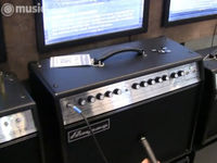 Musikmesse 2011: Ampeg GVT Series guitar amps video demo