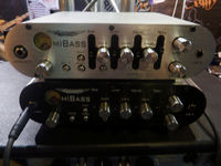 Musikmesse 2011: Ashdown MiBass amp head video demo