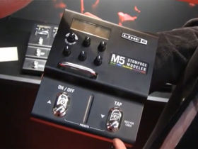 Musikmesse 2011: Line 6 M5 Stompbox Modeler up close video