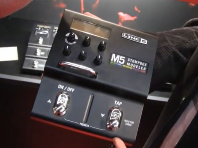 Line 6 M5 Stompbox Modeler: 100 effects in one