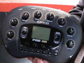 Musikmesse 2011: Line 6 POD HD up close video
