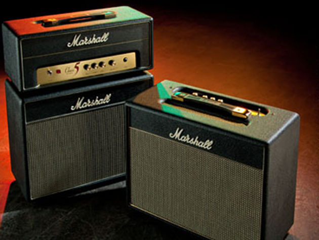 Marshall Class 5 amps