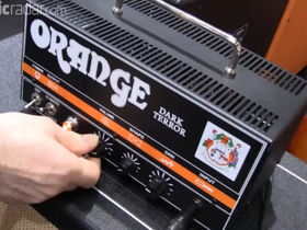 Musikmesse 2011: Orange Amps Dark Terror video demo