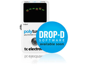 Musikmesse 2011: TC Electronic Polytune adds drop-D tuning