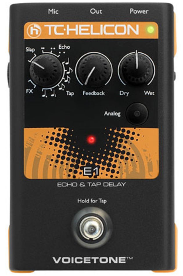 TC-Helicon VoiceTone E1 pedal
