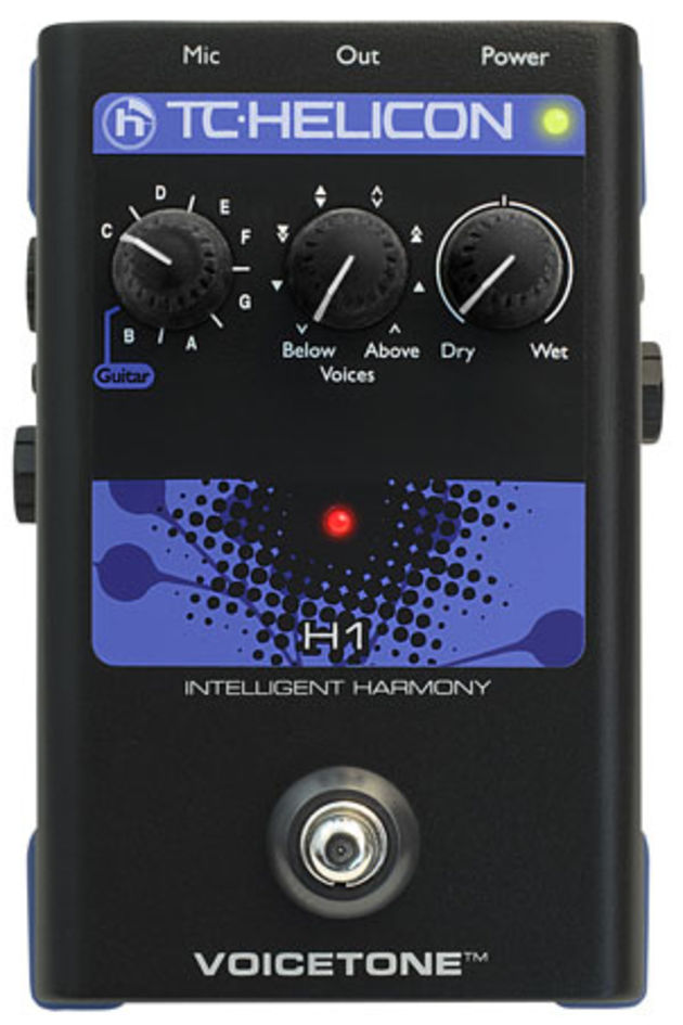 TC-Helicon VoiceTone H1 pedal