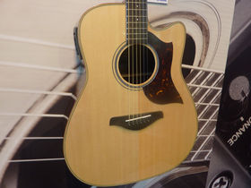 Musikmesse 2011: Yamaha Guitars stand in pictures: new electrics, acoustics and basses