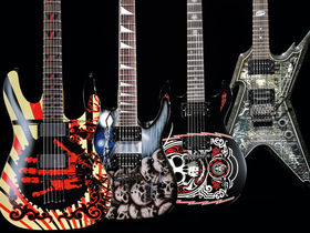 The ultimate graphic guitars round-up?