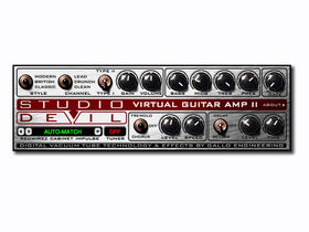 Studio Devil launches Virtual Guitar Amp II