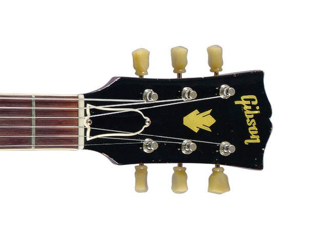 1960 Gibson ES-335 TD (headstock detail)
