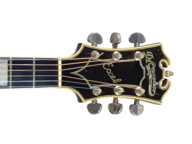 1935 D'Angelico Exel (headstock detail)
