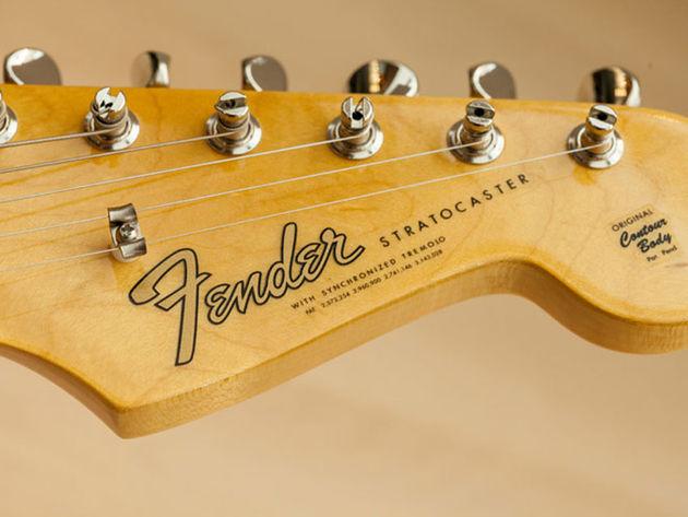 '65 Stratocaster headstock
