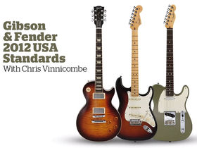 VIDEO: Fender and Gibson 2012 USA Standards demo