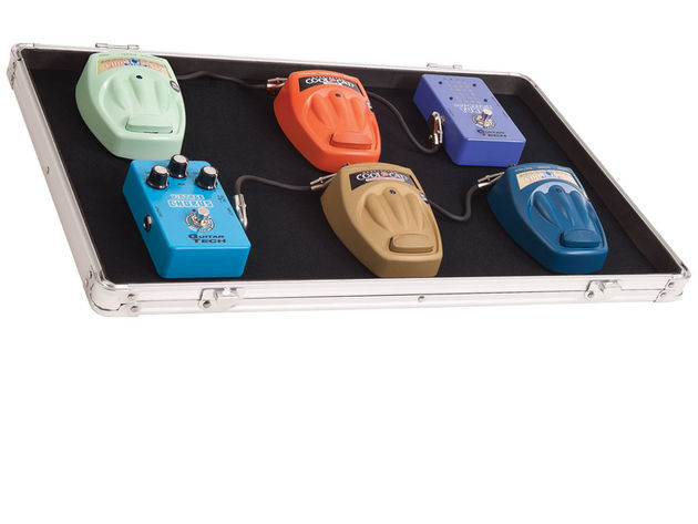 The Kinsman KUPB8 pedalboard can fit six to eight effects