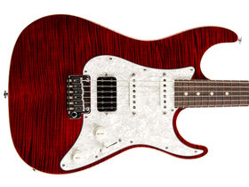 Suhr unveils limited edition Korina Flame
