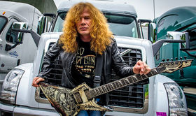 Dave Mustaine unveils signature Cleartone strings
