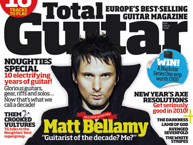 Matt Bellamy: TG cover star