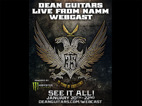 NAMM 2012 VIDEO: Dean Guitars announces live show webcast