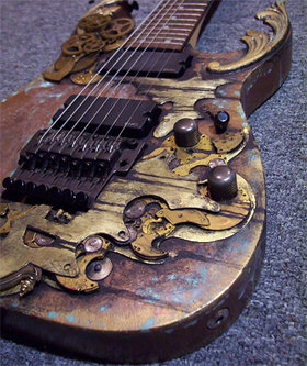 Abney park guitar