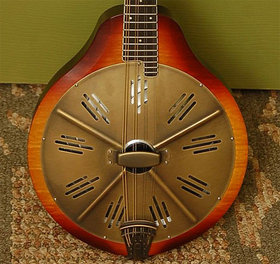 Resonator mandolin