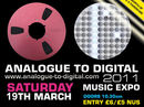 Analogue To Digital 2011 confirmed for 19 March