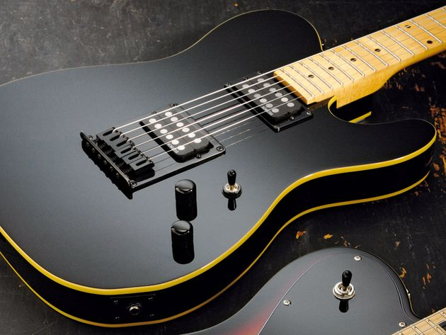 The Schecter PT is based on models played by Townshend in the '80s.