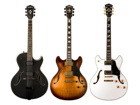 Washburn Guitars debuts new models and colours in popular HB Hollow Body series