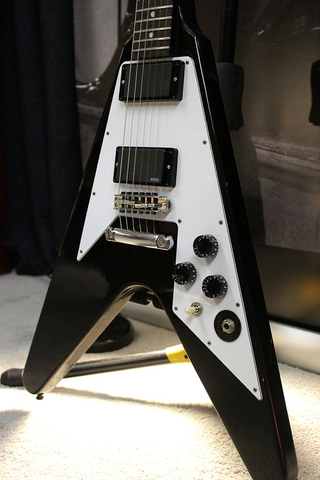 Gibson Custom Shop Kirk Hammett Flying V Aged