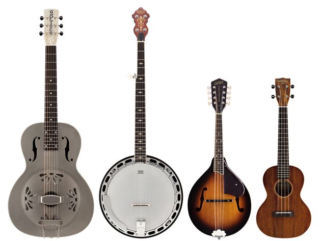 Gretsch's new Roots Collection acoustic instruments