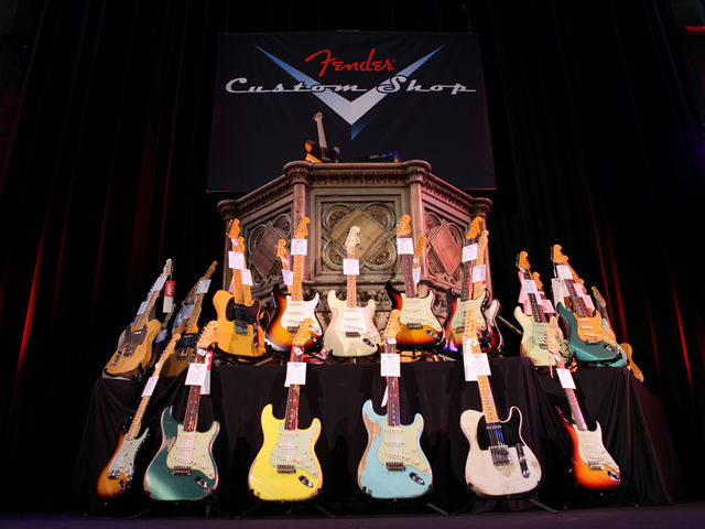 Fender Custom Shop event