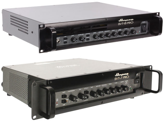 New Ampeg SVT-PRO Series heads