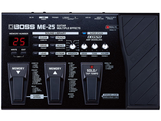 Boss ME-25 multi-effects guitar pedal