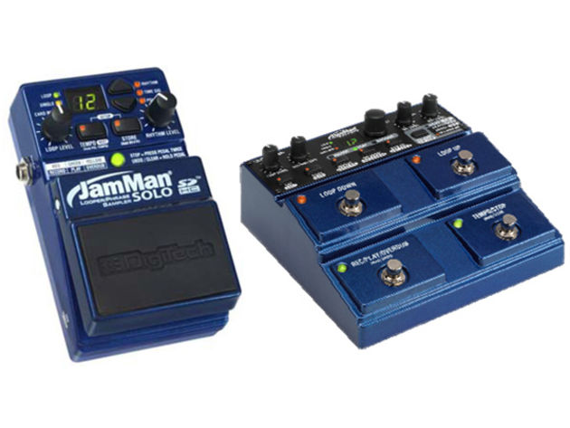 DigiTech JamMan Solo and Stereo pedals