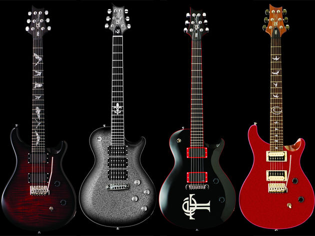 PRS SE Signature guitars