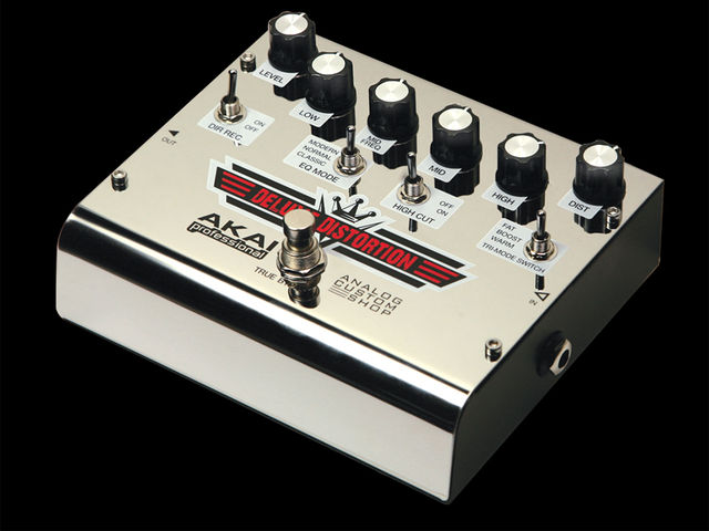 Akai deluxe distortion custom shop 12 02 2013 for Yamaha thr10 pedals