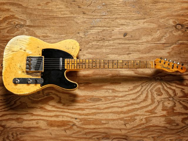 Fender Time Machine 1953 Heavy Relic Telecaster and 1958 Relic Stratocaster (not pictured)