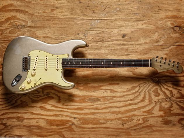 Fender Time Machine 1960 Relic Stratocaster