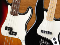Fender American Special bass guitars