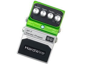 NAMM 2011: HardWire launch SP-7 Stereo Phaser pedal
